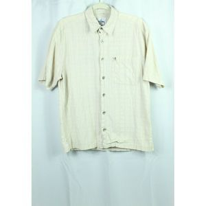 Guy Harvey Shirt Button Front Short Sleeve Size S